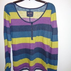 Junior's Arizona Long Sleeve Top Size XL